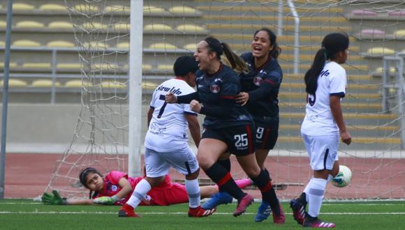 Andrea Kcomt fichó el 2021 por Atlético Trujillo para disputar la Liga Femenina.