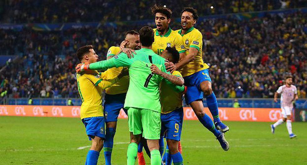 Brasil ya está en las semifinales de la Copa América 2019. (Foto: Getty)