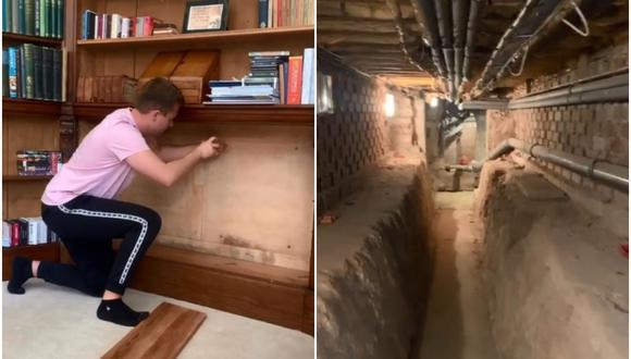 El video viral del tiktoker que encontró un túnel oculto en su casa construida en el siglo XVI. (Foto: @freddygoodall / TikTok)