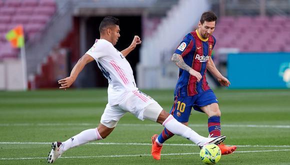 Real Madrid y Barcelona chocan el próximo 10 de abril en la cancha del Alfredo di Stéfano. (Getty)