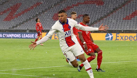 Kylian Mbappé tiene contrato con el PSG hasta 2022. (Getty)