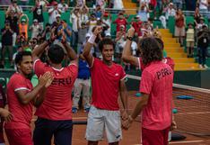 Con Varillas al frente: conoce al equipo peruano que enfrentará a Bosnia & Herzegovina por la Copa Davis