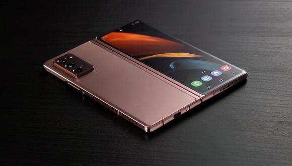 Así es el Samsung Galaxy Z Fold 2 que Samsung presentó en nuestro país. (Foto: Samsung)