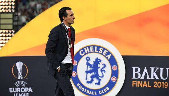 Unai Emery buscaba cerrar su primera temporada con el Arsenal levantando el trofeo de la Europa League. (Foto: AFP)