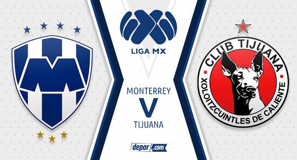 Monterrey vs. Tijuana: transmisión, horarios y en qué canal ver partido por la Liga MX 2021 aquí