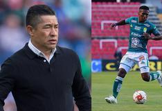 """DT de León resaltó presente de Aquino: """"Está en su mejor nivel desde que llegó al club"""""""