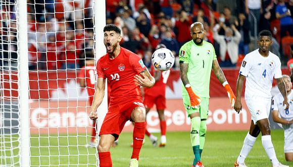 Canadá vs. Panamá se vieron las caras este miércoles por la jornada 6 de las Eliminatorias a Qatar 2022 (Foto: Getty Images).