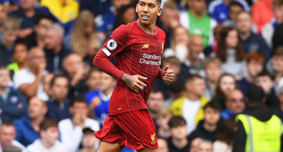 Firmino juega en el Liverpool