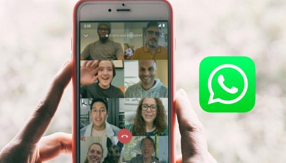 ¿Cuándo serán lanzadas las videollamadas con más de 4 personas en WhatsApp? Conoce cómo lucirán. (Foto: WhatsApp)