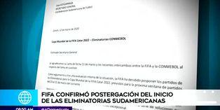 FIFA acepta pedido de Conmebol y aplaza eliminatorias sudamericanas