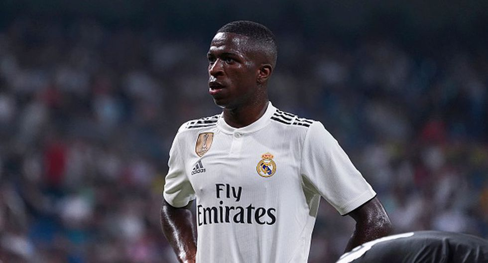 Vinicius Junior llegó al Real Madrid procedente del Flamengo. (Getty)