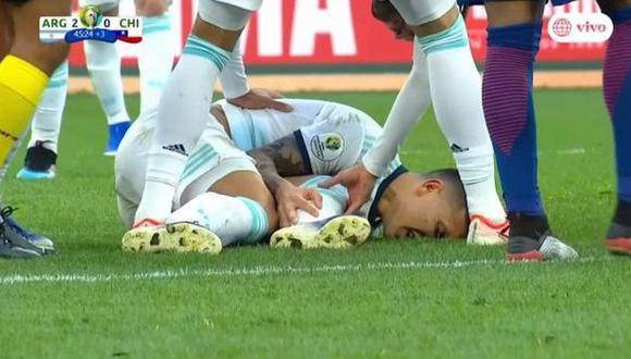 La terrible falta de Pulgar sobre Paredes que fue solo amarilla por Copa América