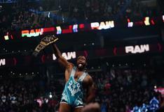 ¡Sorpresa total! Big E ganó el título de WWE tras derrotar a Bobby Lashley en RAW [VIDEO]