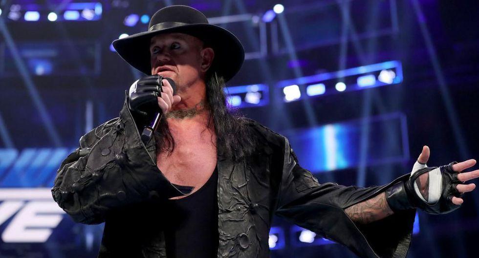 The Undertaker no pelea desde Extreme Rules 2019, evento celebrado en julio del año pasado. (Foto: WWE)