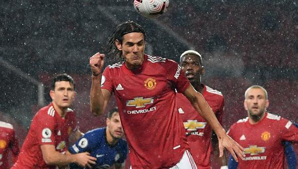 Manchester United empató ante Chelsea por Premier League. (AFP)