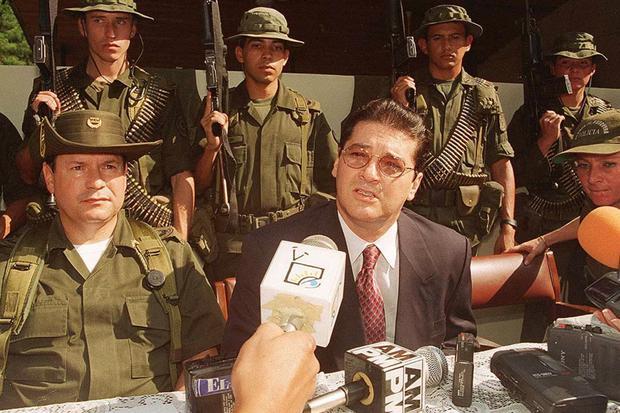 Pacho Herrera fue asesinado en noviembre de 1998 (Foto: AFP)
