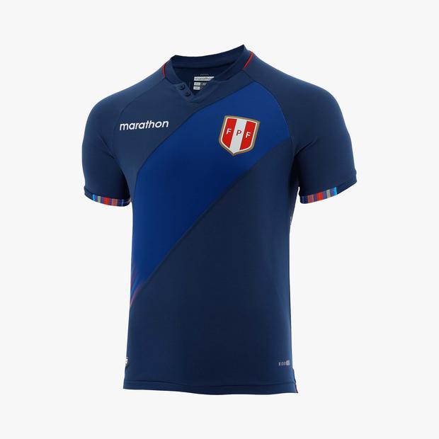 Así luce la camiseta alterna de la Selección Peruana.