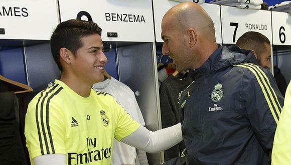 James Rodríguez dejaría el Real Madrid a final de temporada (Getty).