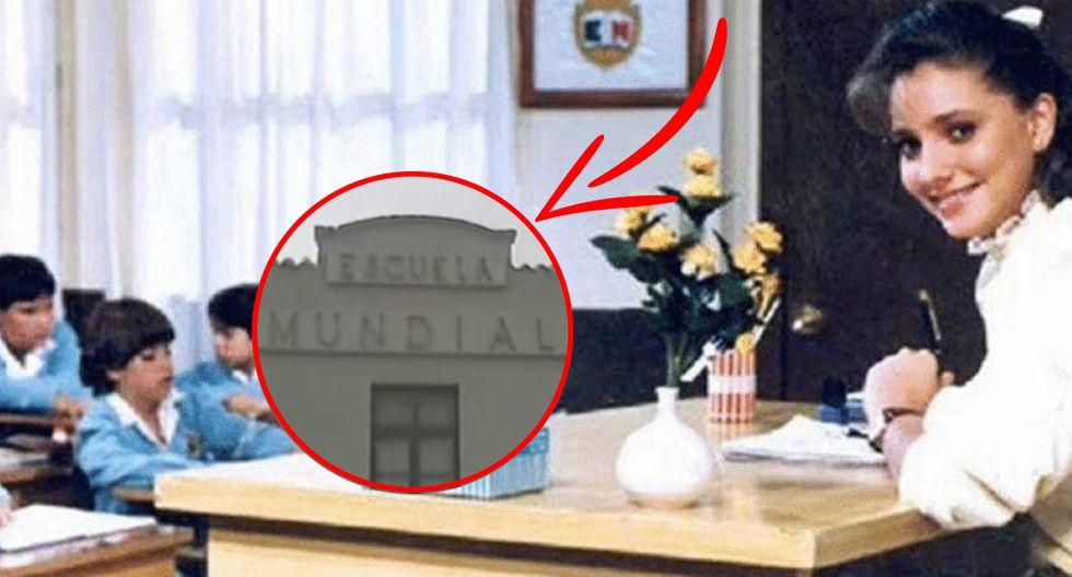 Google Maps te muestra cómo luce actualmente el colegio donde se grabó 'Carrusel', la novela mexicana. (Foto: Televisa)