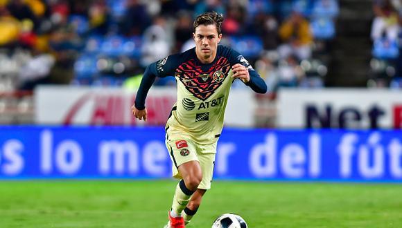 Sebastián Córdova es uno de los jugadores con mayor en el América en la actualidad (Foto: Getty Images).