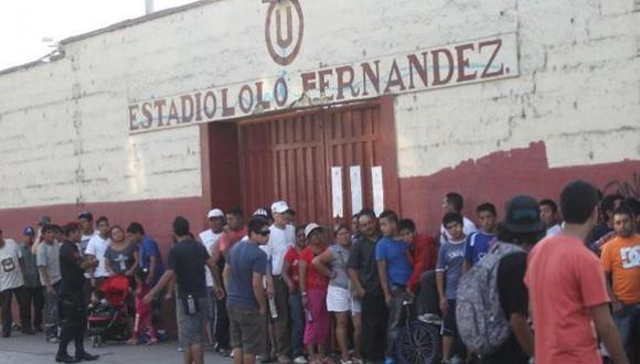 Estadio Lolo Fernandez. (Foto: GEC)