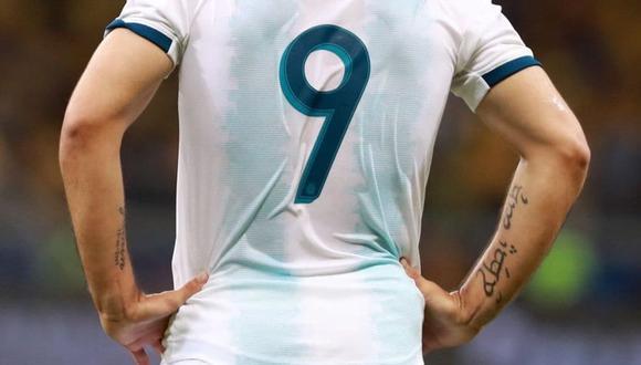 Joaquín Correa llevará la camiseta 9 en el Argentina vs. Ecuador por Eliminatorias 2022.