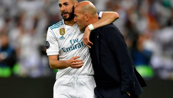 Karim Benzema es el actual delantero del Real Madrid. (Foto: Getty Images)