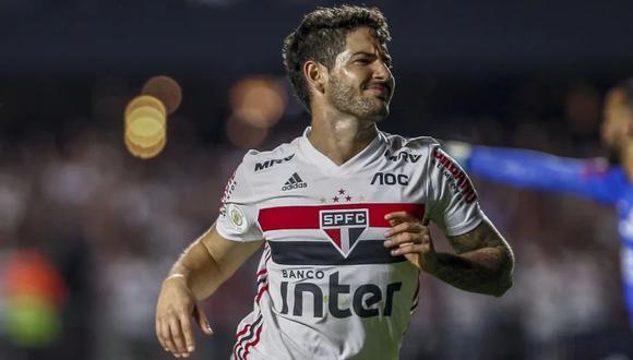 El último club de Alexandre Pato fue Sao Paulo, donde solo pudo anotar cuatro goles durante la primera mitad del 2020. (Foto: AFP)