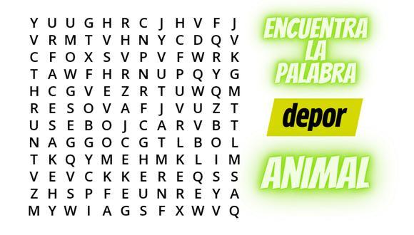 Un reto viral plantea un desafío a todos los amantes de las sopas de letras. | Crédito: quizpost.me / Composición