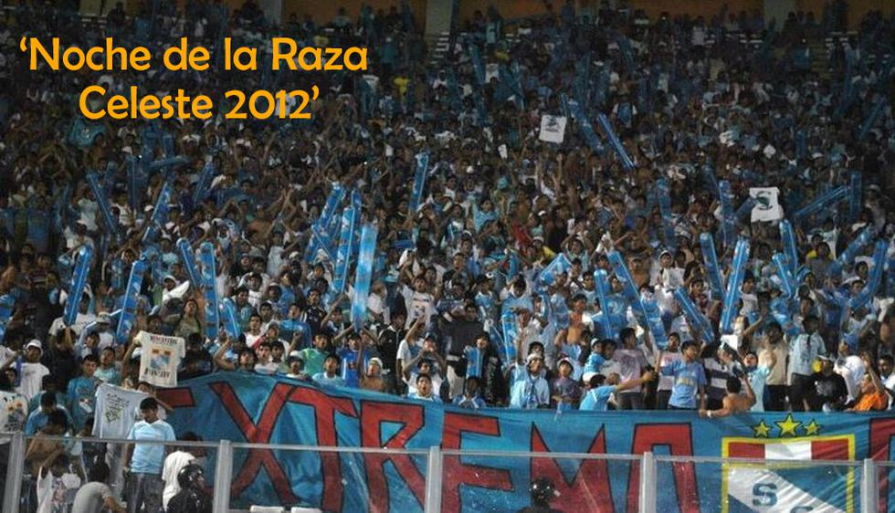 Así fue la 'Noche de la Raza Celeste 2012'.