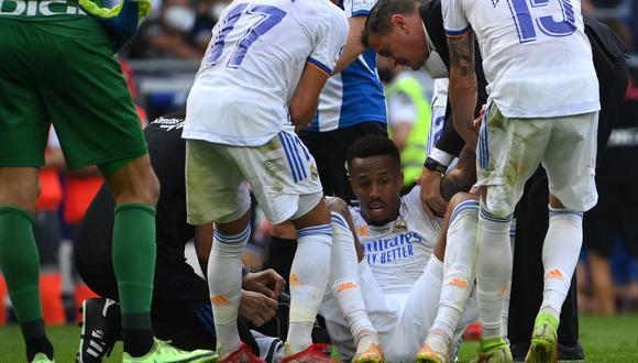 Militao se lesionó el pasado domingo durante el Colombia-Brasil disputado en el estadio Metropolitano de Barranquilla. (Foto: AFP)