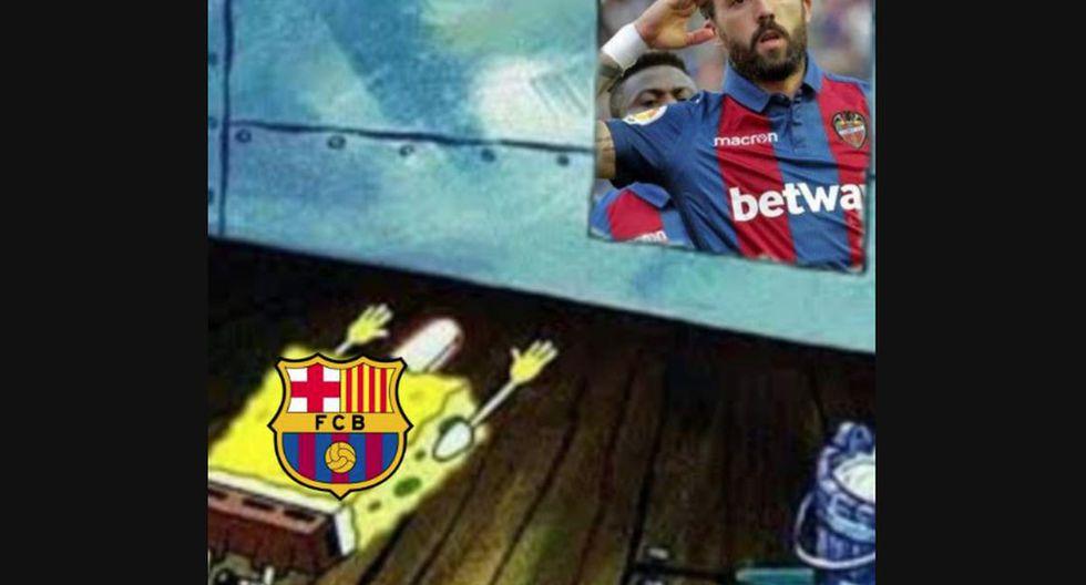 Los mejores memes de la derrota por 1-0 del Real Madrid a manos del Levante por LaLiga Santander 2020. (Foto: Facebook)