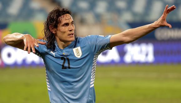Edinson Cavani es uno de los convocados de Uruguay para enfrentar a Perú (Foto: Agencias)