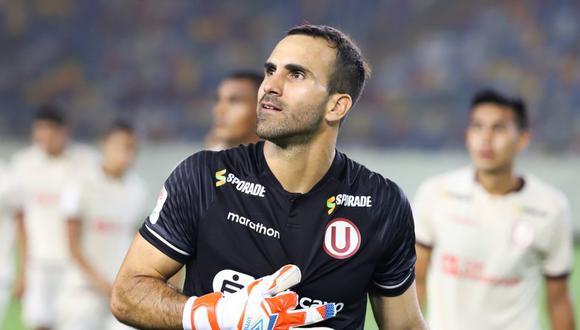 José Carvallo fue incluido en la lista de arqueros con más minutos invictos. (Foto: GEC)