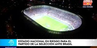 Selección peruana no jugaría ante Brasil en el Estadio Nacional