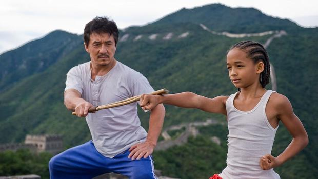 The film opened on June 11, 2010 in Chicago, with appearances by Jackie Chan and Jaden Smith, and a brief surprise appearance by Will Smith.  (Photo: Columbia Pictures)