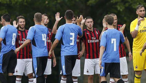 AC Milan también podrá participar en la Europa League de la próxima temporada (Foto: AFP).