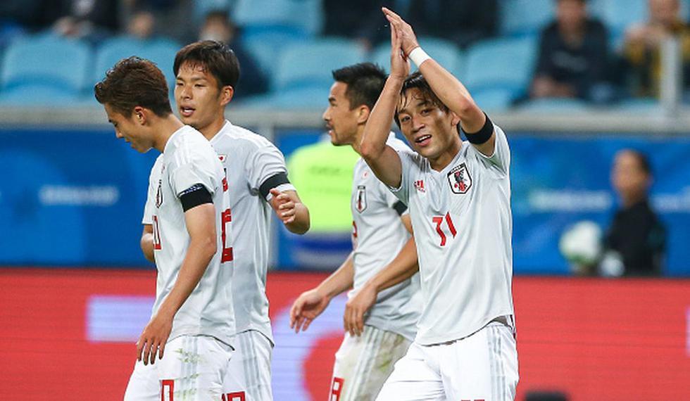¡Nipones dieron la sorpresa! Uruguay y Japón empataron en Porto Alegre por el Grupo C de la Copa América. (Getty)