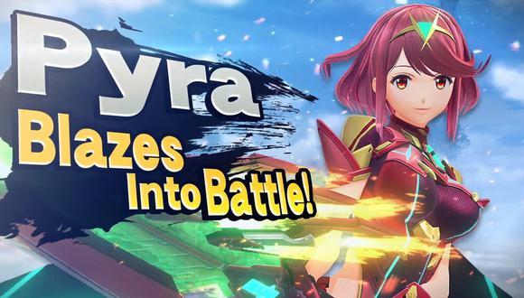 Super Smash Bros. Ultimate presenta a Pyra y Mythra como sus nuevos personajes jugables. (Foto: Nintendo)