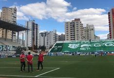 Alerta en el equipo de Quevedo: se suspendió el Goiás vs. Sao Paulo tras reportarse varios casos positivos de COVID-19
