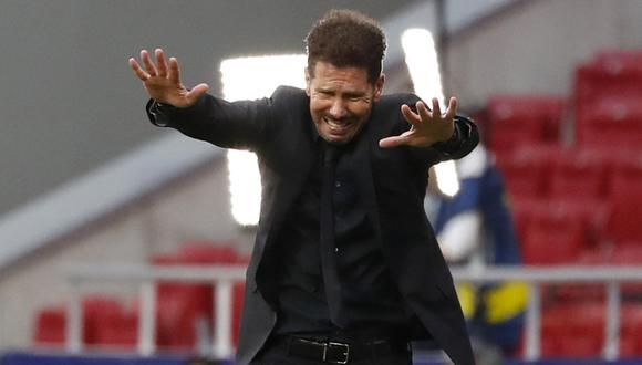 Diego Simeone logró la pasada temporada su segunda Liga como DT del Atlético. (Foto: REUTERS)