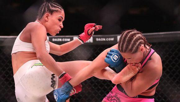 Valerie Loureda sumó su segunda victoria como profesional. (MMA Junkie)