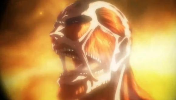 """El Titán Colosal también fue visto en el último capítulo de """"Attack on Titan"""" (Foto: Crunchyroll)"""