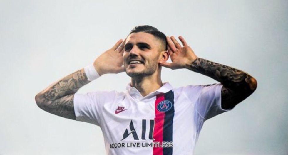 Mauro Icardi puso el 1-0 de PSG ante Brujas por el Grupo A de Champions League.
