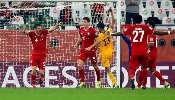 Tigres UANL vs. Bayern Múnich en la final del Mundial de Clubes. (Foto: Reuters)