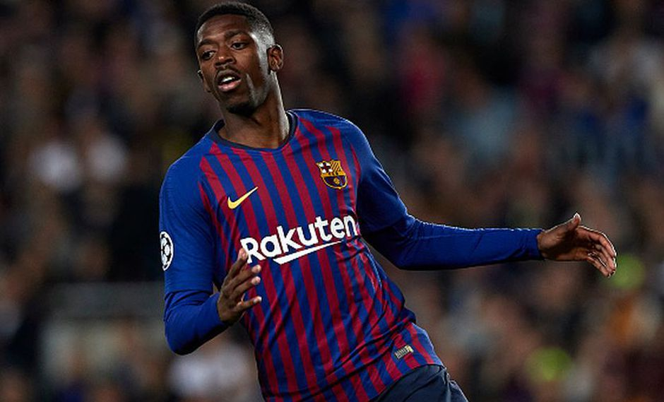 Dembélé llegó al Barcelona en 2017 desde el Dortmund. (AFP)