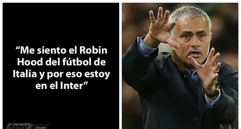 José Mourinho 13 Frases Célebres Y Polémicas En Su Carrera