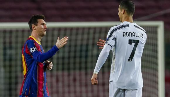 Lionel Messi y Cristiano Ronaldo jugaron por última vez por Champions League | Fotos: Agencias