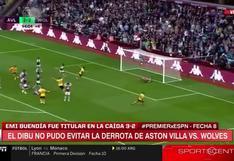 ¡Mirá que te comen! El 'Dibu' Martínez recibió tres goles en 15 minutos y perdió ante Wolves [VIDEO]