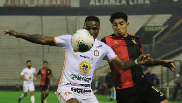 Melgar y Ayacucho no se hicieron daño por la fecha 11 de la Fase 2. (Foto: Liga de Fútbol Profesional)